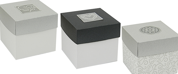 Two Piece Gift And Favor Boxes With Lids