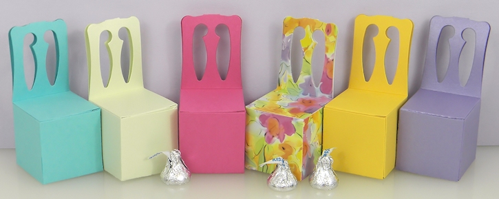 Chair Shaped Boxes