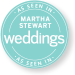 As Seen In Martha Stewart Weddings Magazine