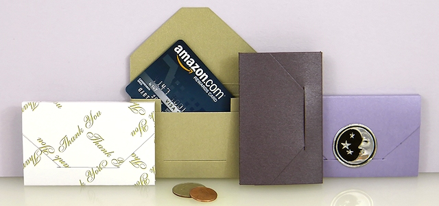 Business Card Boxes & Gift Card Holders