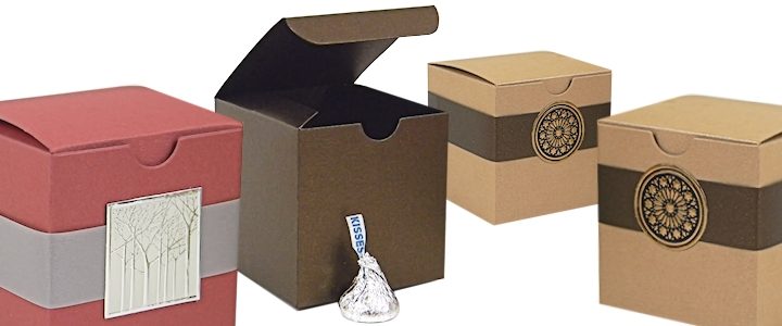Buy 2x2x2 Boxes - 2x2 Favor Boxes