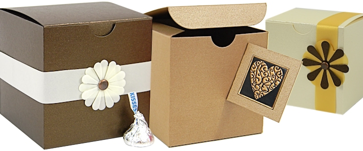 Buy 3x3x3 Boxes - Small Favor Boxes