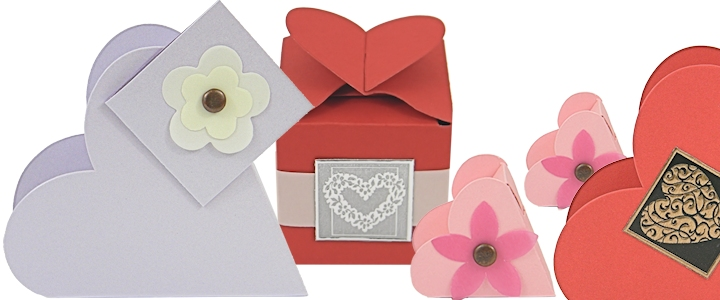Buy Heart Shaped Favor Boxes - Heart Shaped Trinket Boxes