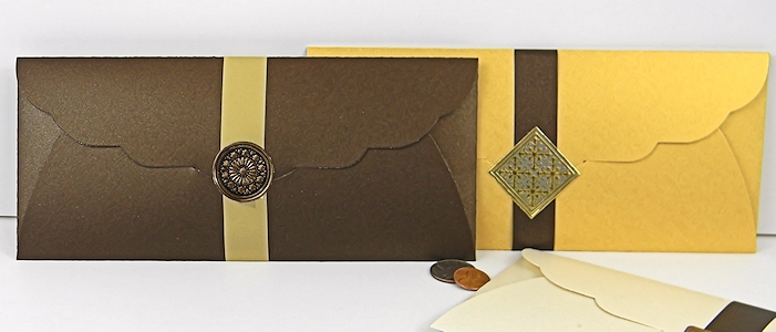 Envelopes For Certificates - Gift Certificate Envelopes