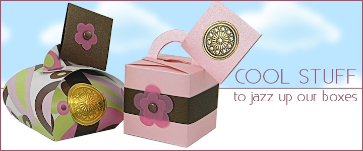 Favor Boxes Decorating Ideas - Small Boxes Accessories