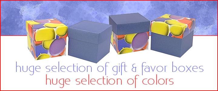 Small Favor Boxes - Wholesale Favor Boxes