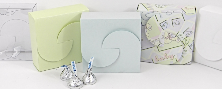 Small Square Gift Boxes - Square Jewelry Boxes