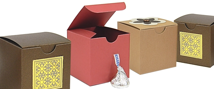 Tuck Top Gift Boxes - White Tuck Top Gift Boxes And More