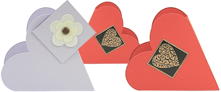 Valentine Heart Boxes Wholesale - Valentine, Chocolate - Bayley's Boxes