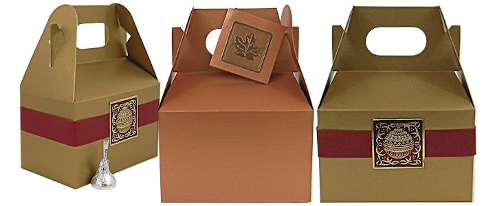 Wholesale Gable Boxes - Red Gable Boxes - And More Colors