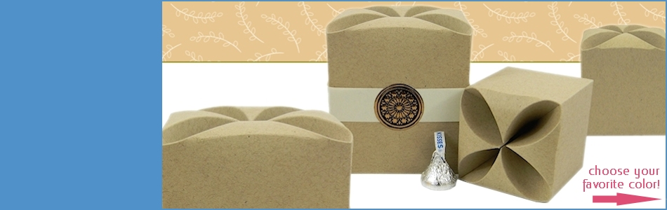 Cube SHaped Gift Boxes