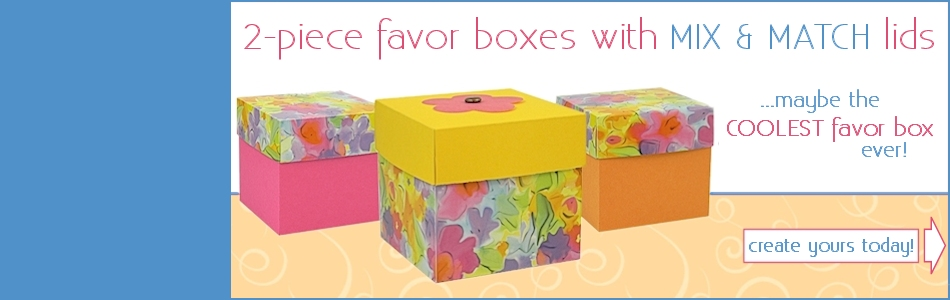 Two Pice Favor Boxes